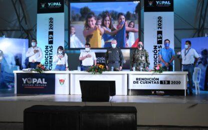 Alcalde Luis Eduardo Castro entrega informe sobre su gestión y estrategias frente al Covid-19