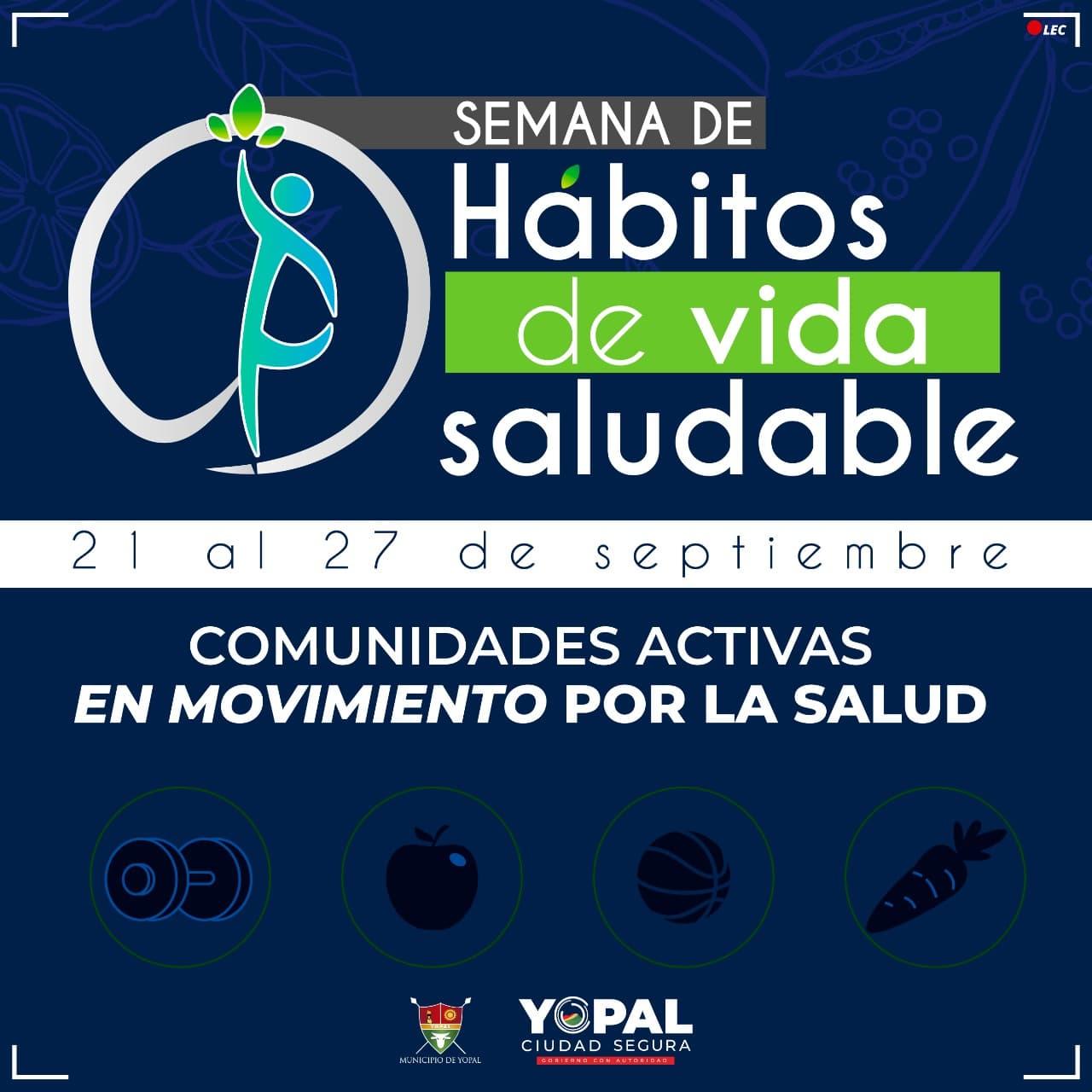 Photo of Conozca el cronograma de actividades que se llevarán a cabo en la semana de hábitos de vida Saludable, que inicia este 21 de septiembre