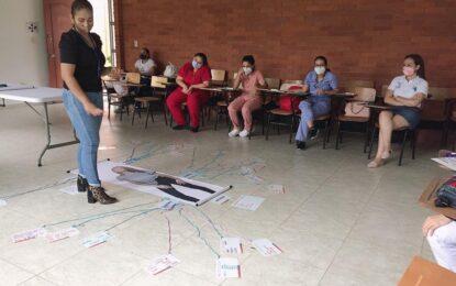 """Profesionales de IPS's participaron en el taller """"Proyectando Sociedad Jóven"""", en el marco de la semana Andina"""