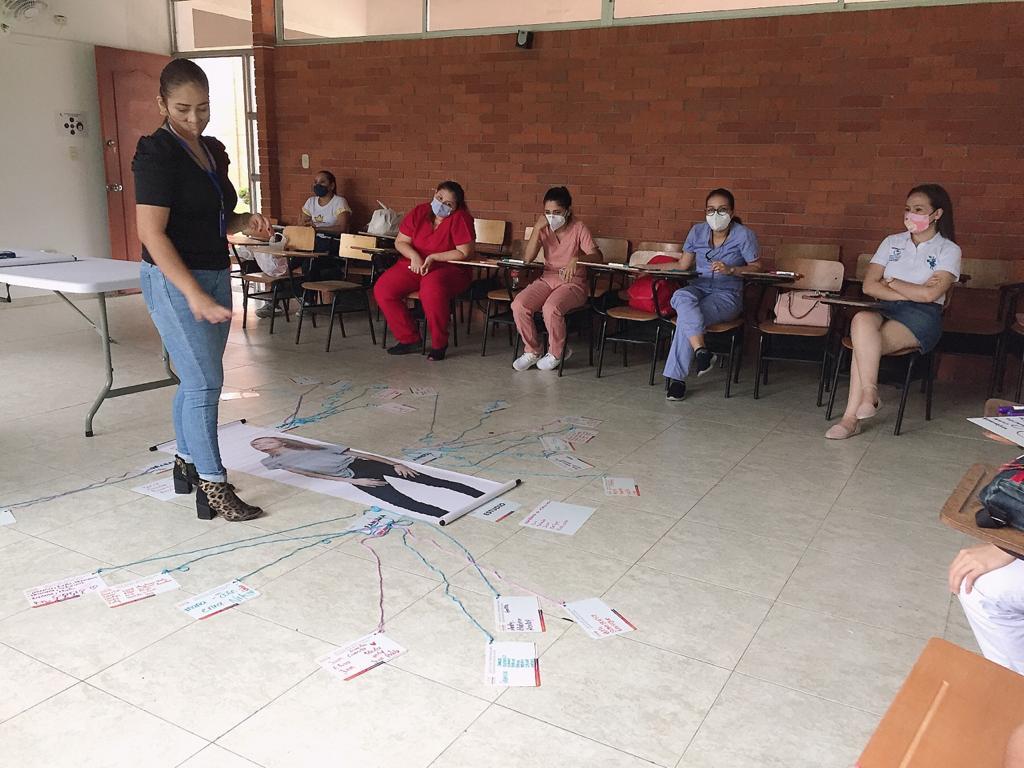 """Photo of Profesionales de IPS's participaron en el taller """"Proyectando Sociedad Jóven"""", en el marco de la semana Andina"""