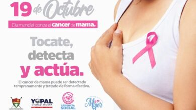 Photo of Administración Municipal se une a la conmemoración del Día Mundial de la Lucha Contra el Cáncer de Mama