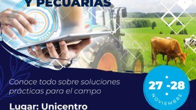 Photo of Participe este 28 y 29 de noviembre de la exposición de tecnologías agraria y pecuaria