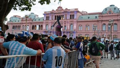 Photo of Comienza velorio de Maradona en la Casa Rosada de Argentina