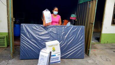 Photo of Ayudas humanitarias fueron entregadas a madre cabeza de familia afectada por incendio estructural