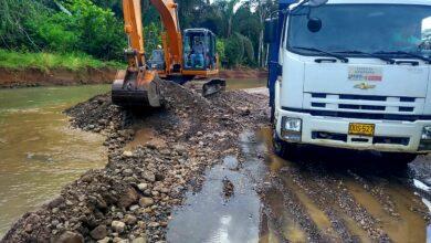 Photo of Vías afectadas por lluvias, están siendo intervenidas en Nunchía