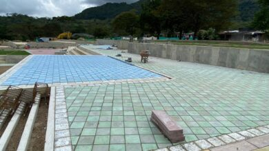 Photo of En fase final se encuentra la construcción del parque recreativo y deportivo de Cupiagua