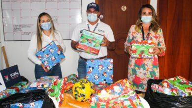 Photo of 150 regalos fueron donados por empresas petroleras en el marco de la Regalatón