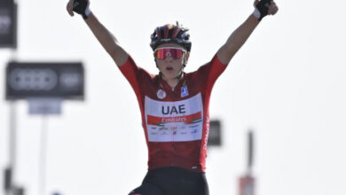 Photo of Sergio Higuita, el mejor colombiano en 3ª etapa del UAE Tour