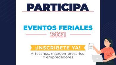 Photo of Inician convocatorias para participar en eventos feriales 2021