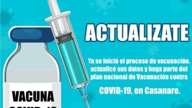 Photo of Afiliados de Capresoca EPS deben actualizar datos para ser agendados en la vacunación contra COVID-19