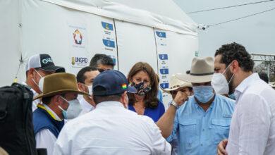 Photo of Durante su visita a Yopal, el presidente Iván Duque realizó inspección al Centro Transitorio para Migrantes