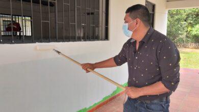Photo of Programa 'Pinta tu escuela' continúa embelleciendo las diferentes escuelas de la zona rural de Yopal