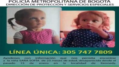 Photo of Capturan a mamá y padrastro de Sara Sofía, niña desaparecida