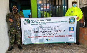 Photo of A extinción de dominio pasaron seis inmuebles que estaban al servicio del microtráfico en Yopal