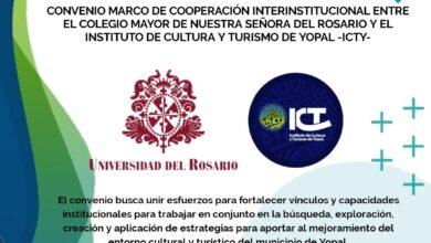 Photo of Universidad del Rosario e Instituto de Cultura y Turismo de Yopal firman convenio de cooperación, para buscar mejoras del entorno cultural y turístico del municipio