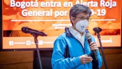 Photo of Con alerta roja por covid, Bogotá entra a las 2 peores semanas de un año