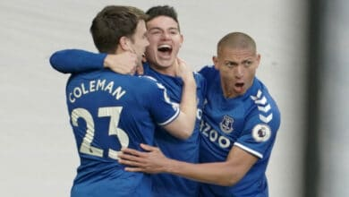 Photo of James Rodríguez marcó gol en el empate del Everton
