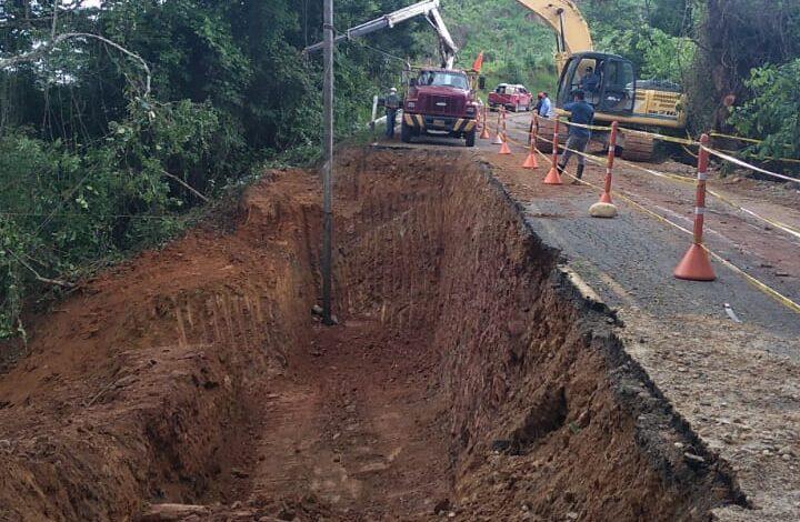 Secretaría de Infraestructura, reconstruye obra de contención en vía de Támara - Noticias de Colombia