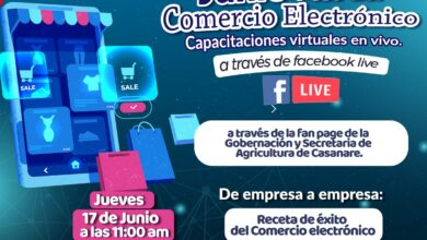 Photo of Este 17 de junio se llevará a cabo segunda jornada del mes del comercio Electrónico