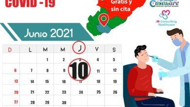 Photo of Este jueves 10 de junio, jornada de muestras gratuitas de covid19 en Maní