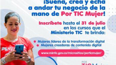 Photo of Dirección TIC invita a mujeres emprendedoras a acceder a cursos y capacitaciones virtuales, totalmente gratis