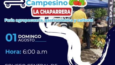 Photo of Este domingo 1 de agosto, se realizará mercado campesino en la Chaparrera