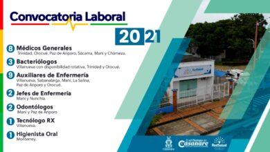 Photo of Red salud Casanare, abre 26 convocatorias laborales