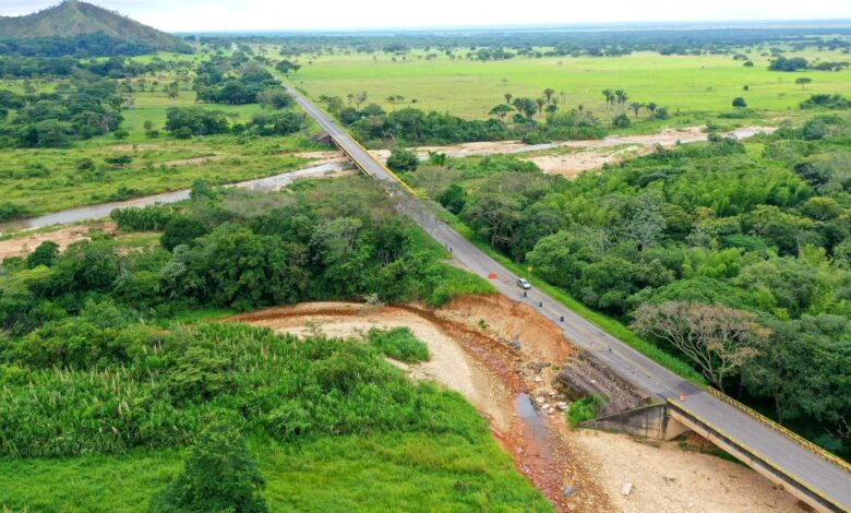 Unidad Nacional de Gestión del Riesgo de Desastres culmina obra de 1.5 km sobre el río Guachiría, a la altura de Pore - Noticias de Colombia