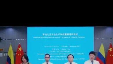 Photo of Funcionarios y empresarios de Casanare participan en curso virtual dictado por embajada de China