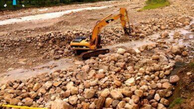 Photo of Administración departamental trabaja en la construcción de un jarillón en la quebrada la Piñalera