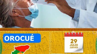 Photo of Este jueves, se realizarán pruebas gratuitas para COVID-19 en Orocué