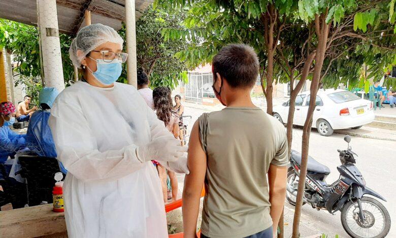 Ya van más de 20 mil niños y niñas vacunados contra el sarampión y la rubéola - Noticias de Colombia