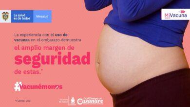 Photo of Ya van más de 400 madres gestantes vacunadas contra el covid19 en Casanare