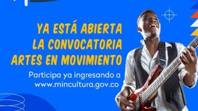 Photo of Hasta el 20 de septiembre estarán abiertas las inscripciones para 'Artes en Movimiento', una propuesta de MinCultura
