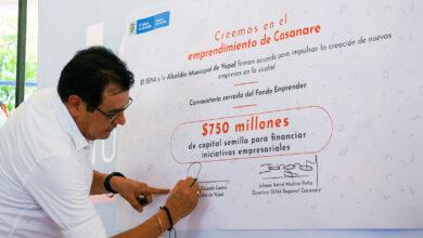 Photo of Administración municipal firma convenio con el SENA para apoyar emprendimientos locales