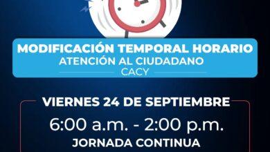 Photo of Conozca las modificaciones en el horario de atención para el día 24 de septiembre en la Alcaldía de Yopal