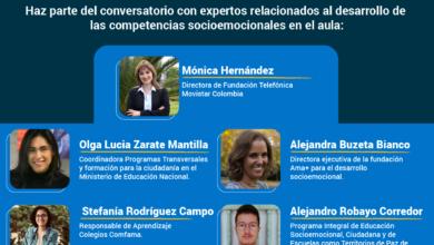 Photo of Cerca de 1.546 docentes en Colombia serán partícipes del II Encuentro de Educación para la Paz Profuturo