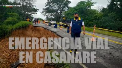 Photo of Oficina de Gestión del riesgo entrega reporte de emergencias viales presentadas en los meses de lluvia