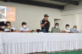 Alcalde de Yopal participó en la socialización del proyecto de pavimentación de la vía vadohondo - Noticias de Colombia