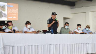 Photo of Alcalde de Yopal participó en la socialización del proyecto de pavimentación de la vía vadohondo