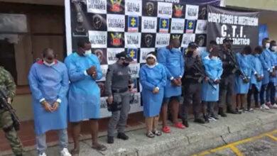 Photo of Capturan funcionarios de la Gobernación de Chocó por extorsión